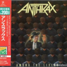 CDs de Música: ANTHRAX - AMONG THE LIVING - CD - JAPAN 1997 - ISLAND RECORDS - PHCR-12511. Lote 151011638