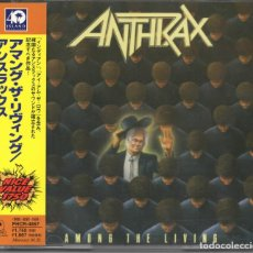 CDs de Música: ANTHRAX - AMONG THE LIVING - CD - JAPAN 1998 - ISLAND RECORDS - PHCR-4867. Lote 151011826