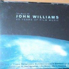CDs de Música: JOHN WILLIAMS THE MUSIC OF JOHN WILLIAMS - 40 YEARS OF FILM MUSIC 4XCDS CAJA LIBRETO. Lote 151015034