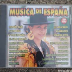 CDs de Música: CD MÚSICA DE ESPAÑA NUEVO. Lote 151017188