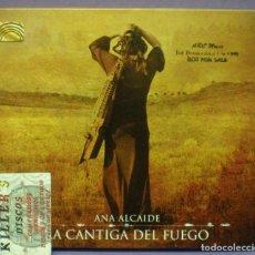 CDs de Música: ANA ALCAIDE - LA CANTIGA DEL FUEGO - CD PROMOCIONAL.. Lote 151082714