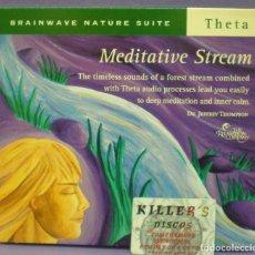 CDs de Música: MEDITATIVE STREAM - DR JEFFREY THOMPSON - CD DIGIPACK . Lote 151085122