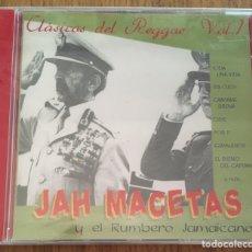 CDs de Música: JAH MACETAS Y EL RUMBERO JAMAICANO CD CLASICOS REGGAE VOL1 PRECINTADO. Lote 151087126