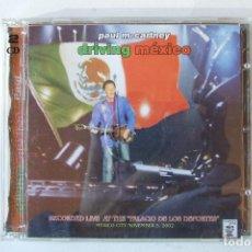 CDs de Música: DOBLE CD BEATLES PAUL MCCARTNEY DRIVING MEXICO 2002. Lote 151092182