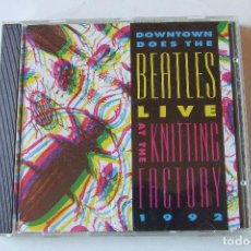 CDs de Música: CD BEATLES COVERS LIVE AT THE KNITTING FACTORY DEFUNKT ALEX CHILTON LYDIA LUNCH KING MISSILE. Lote 151093402