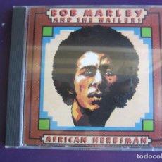 CDs de Música: BOB MARLEY WAILERS CD AFRICAN HERBSMAN - 16 TEMAS RECOPILACION PRIMERA EPOCA 1970 - 71 REGGAE ROOTS. Lote 151097526