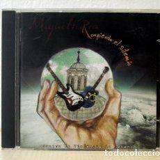 CDs de Música: MIGUELTURRA. ROMPIENDO EL SILENCIO. (CD MUSIC) - VARIOS ARTISTAS. Lote 151110904