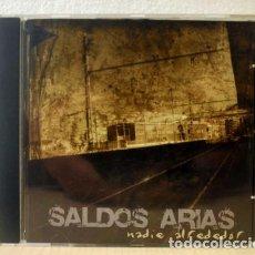 CDs de Música: SALDOS ARIAS - NADIE ALREDEDOR. (CD MUSIC / COMO NUEVO). Lote 151110924
