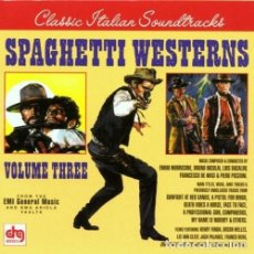 CDs de Música: SPAGHETTI WESTERNS VOLUME THREE. Lote 151132242