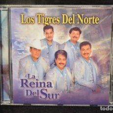CDs de Música: LOS TIGRES DEL NORTE - LA REINA DEL SUR - CD. Lote 151134038