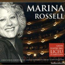 CDs de Música: MARINA ROSELL GRAN TEATRE DEL LICEU DE BARCELONA - CD. Lote 151153026