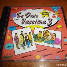CDs de Música: LA ONDA VASELINA 3 / 4 TEX MEX CD ALBUM DEL AÑO 1993 ESPAÑA CONTIENE 25 TEMAS MUY RARO. Lote 151154066