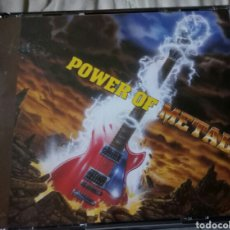 CDs de Música: POWER OF METAL VARIOS - GAMMA RAY, RAGE, HELICON, CONCEPTION LIVE. NOISE RECORDS. POWER METAL. Lote 151220744