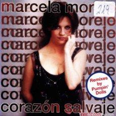 CDs de Música: MARCELA MORELO - CORAZON SALVAJE REMIXES CD SINGLE 2 TRACKS 1998. Lote 151234858
