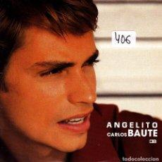 CDs de Música: CARLOS BAUTE - ANGELITO CD SINGLE 1 TRACK PROMO 2001. Lote 151234974