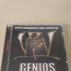 CDs de Música: CD VIOLADORES DEL VERSO ( GENIOS ). Lote 151243586
