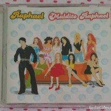 CDs de Música: MALDITO RAPHAEL - CD 2001 (JEANETTE, ALASKA, PASTORA SOLER, ROCIO JURADO, RITA PAVONE...). Lote 151267614