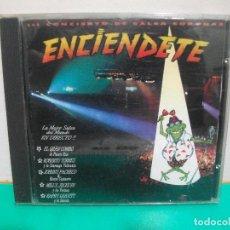 CDs de Música: VARIOS - ENCIENDETE CD ALBUM CONCIERTO DE SALSA CORONAS MANZANA RECORDS. Lote 151297638