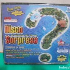 CDs de Música: DISCO SORPRESA TRIPLE CD ALBUM NUEVO¡¡. Lote 151298326