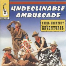 CDs de Música: UNDECLINABLE AMBUSCADE - THEIR GREATEST ADVENTURES. Lote 151301030