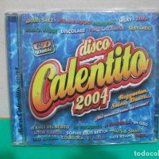 CDs de Música: DISCO CALENTITO 2004. DOBLE CD ALBUM NUEVO¡¡. Lote 151301118