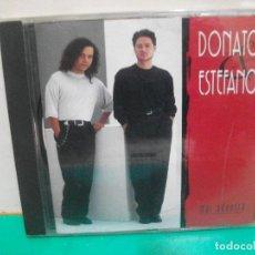 CDs de Música: DONATO Y ESTEFANO , MAR ADENTRO , CD ALBUM DUETO CON JULIO IGLESIAS . Lote 151301810