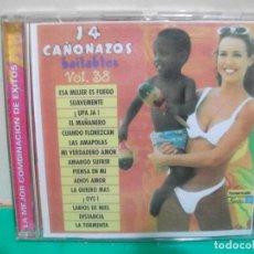 CDs de Música: CD ALBUM 14 CAÑONAZOS BAILABLES VOL 38. Lote 151305194