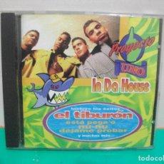 CDs de Música: CD ALBUM 1995 PROYECTO UNO ¨IN DA HOUSE EL TIBURON ESTA PEGAO. Lote 151306738