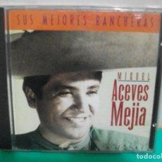CDs de Música: MIGUEL ACEVES MEJIA SUS MEJORES RANCHERAS CD 1995 EDICION ESPAÑOLA SPAIN. Lote 151307986
