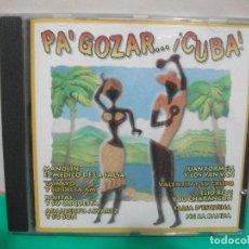 CDs de Música: CD ALBUM PA GOZAR....¡.CUBA ¡ EMI 1997. Lote 151308402