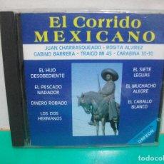 CDs de Música: EL CORRIDO MEXICANO CD ALBUM SONY ORFEON 1995. Lote 151310142