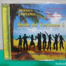 CDs de Música: ORQUESTA LUSITANIA BAILE DE VERBENA 4 CD ALBUM NUEVO¡¡. Lote 151319198