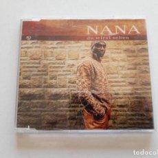 CDs de Música: CD NANA, DU WIRST SEHEN. Lote 151337178