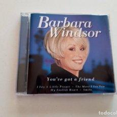 CDs de Música: CD BARBARA WINDSOR, YOU'VE GOT A FRIEND. Lote 151337206