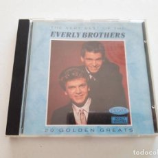CDs de Música: CD EVERLY BROTHERS, 20 GOLDEN GREATS. Lote 151337330