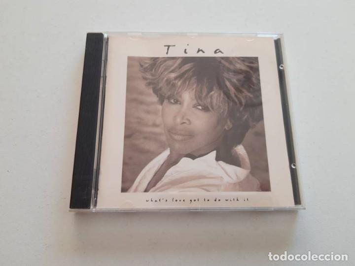 CD TINA TURNER, WHAT'S LOVE GOT TO DO WITH IT (Música - CD's Otros Estilos)