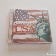 CDs de Música: CD GOD BLESS THE USA, 25 PATRIOTIC FAVORITES. Lote 151337482