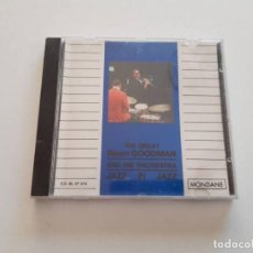 CDs de Música: CD THE GREAT BENNY GOODMAN AND HIS ORCHESTRA. Lote 151337546