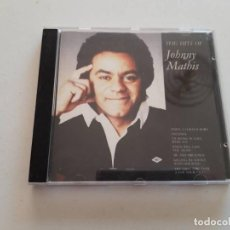 CDs de Música: CD THE HITS OF JOHNNY MATHIS. Lote 151337562