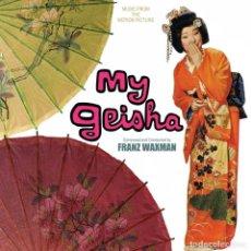 CDs de Música: MY GEISHA / FRANZ WAXMAN CD BSO - KRITZERLAND. Lote 151338214