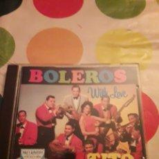 CDs de Música: TITO RODRÍGUEZ BOLEROS. EDICIÓN DE 1991. Lote 151341840