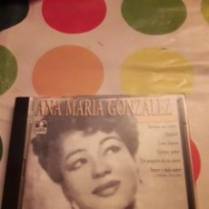 CDs de Música: DOBLE CD DE ANA MARÍA GONZÁLEZ. VOLUMEN 1. 1948 A 1950.. Lote 151342140