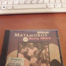 CDs de Música: CONJUNTO MATAMOROS Y BENY MORÉ. EDICIÓN DE 1992. Lote 151355149