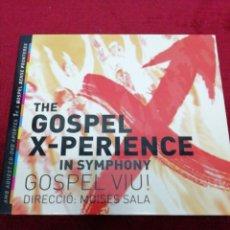 CDs de Música: THE GOSPEL X-PERIENCE. DOBLE CD. Lote 151362562