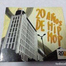 CDs de Música: CD HIP HOP/20 AÑOS DE HIP HOP.. Lote 151370610