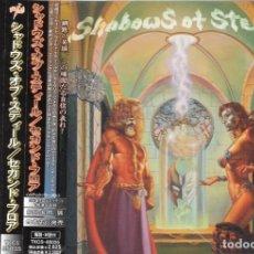 CDs de Música: SHADOWS OF STEEL - SECOND FLOOR - CD - JAPAN 2002 - SOUNDHOLIC - TKCS-85035. Lote 151373010