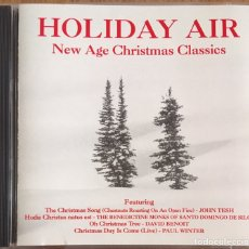CDs de Música: HOLIDAY AIR THE NEW AGE CHRISTMAS CLASSICS CD MUY BIEN CONSERVADO. Lote 151379642
