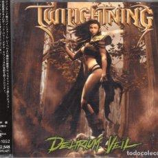 CDs de Música: TWILIGHTNING - DELIRIUM VEIL - CD - JAPAN 2003 - UNIVERSAL - UICO-1052. Lote 151420022