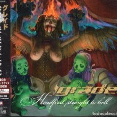 CDs de Música: GRADE - HEADFIRST STRAIGHT TO HELL - CD - JAPAN 2001 - VICTORY RECORDS - VICP 61449. Lote 151420850