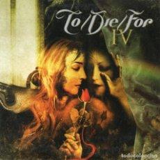 CDs de Música: TO/DIE/FOR - IV - CD PROMO - FINLAND 2005 - SPINEFARM RECORDS - SPI222CD. Lote 151422194
